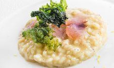 Nella mia cucina ci sono sempre stati i risotti: penso che chi come me faccia cucina italiana debba assolutamente affrontare tutti i grandi piatti