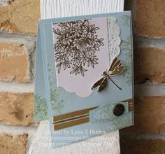 Stampin' Up! Awesomely Artistic, Vintage Cards Class