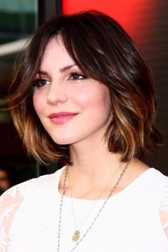 This songstress is something of a hair chameleon but this short, layered bob is our favorite among her many hairstyles. How to Trim Your Own Hair