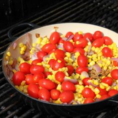 Summer Succotash is the perfect recipe for a easy summer #WeekdaySupper