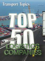Transport Topics Online | Logistics 50 Lists Top Freight Brokers, Forwarders, Warehousing