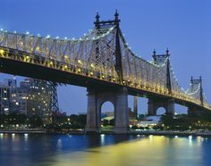Queensborough Bridge NYC walked over this bridge during the great power outage of 2003-on my birthday!
