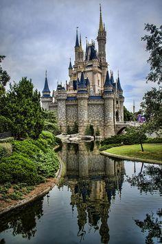 Gallery Wrap Canvas Cinderella's Castle Choose by heaphotography Beautiful Castles, Beautiful Buildings, Beautiful Places, Modern Castle, Point Pleasant Beach, Storybook Homes, Modern Art Movements, Cinderella Castle, Short Break