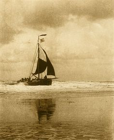 ⚓♡salt air⊰⛵ .Incoming Boat ca. 1894 by Alfred Stieglitz