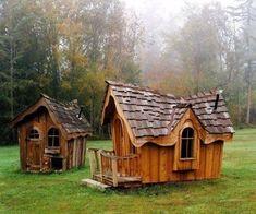 Bunny house or chicken coop #outdoorplayhouseideas