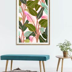 'Color Paradise' Art, Canvas & Metal Print @society6 #society6 #decor #interiorstyling