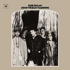USED VINYL RECORD 12 inch 33 rpm vinyl LP John Wesley Harding is the eighth studio album by American singer-songwriter Bob Dylan, released on December 27, 1967 by Columbia Records. Produced by Bob Joh