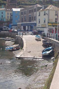 Brixham harbour.  ENGLAND.