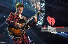Harry Styles performs onstage during the 2017 iHeartRadio Music Festival at T-Mobile Arena on September 22, 2017 in Las Vegas, Nevada.
