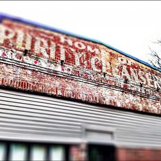 Ghost sign in Andover, MA.