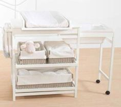 Cambiadores para la habitación del bebé