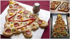 pizzas de noel