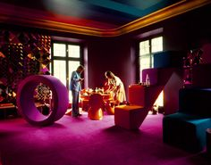 Verner Panton | Phantasy Exposed | Revel in New York created by Scott Newman & Marc Santo