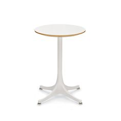 NELSON TABLE 5451 BY GEORGE NELSON Scandinavia Design, George Nelson, Tubular Steel, Kitchen Furniture, Tables, Dining Table, The Originals, Inspiration, Coffee