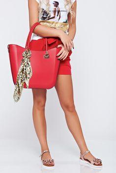 Comanda online, Geanta dama office rosie accesorizata cu esarfa. Articole masurate, calitate garantata! Kate Spade, Summer, Bags, Fashion, Handbags, Moda, Summer Time, Fashion Styles, Taschen