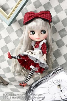 Muñecas Modelo Y Accesorios Imported From Abroad Sarah Ooak Custom Blythe Tbl Fake Doll Pure White And Translucent