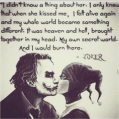 Harley and Joker Type of Love