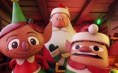 "Call Santa"" by Martin Guldbaek as part of the IV Studio team! Concept/Design by Michael Cribbs and Nayt Cochran Christmas Themes, Christmas Ornaments, Holiday Decor, Alexa Device, Alexa Echo, Scratchboard, Art Station, Little Christmas, Animated Gif"