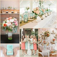 Gorgeous Wedding Colour Trends That Keep On Trending: Gold, Peach U0026 Mint