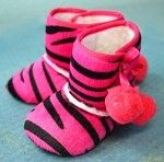 Got these too! Hot Pink Zebra Winter Bootie. This whole website has amazingly cheap stuff!