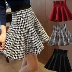 Cheap midi short, Buy Quality skirt female directly from China pleated mini skirt Suppliers: Skirt Style 2017 Winter Skirts Women Knitted Skirt High Waist Pleated mini Skirt Casual Elastic Flared Skirt Female midi Short Skirt Fashion, Fashion Outfits, Womens Fashion, Fashion Top, Cheap Fashion, Ladies Fashion, Affordable Fashion, Korean Fashion, A Line Skirts