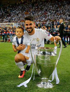 los campeones de real madrid  y sus  hijos