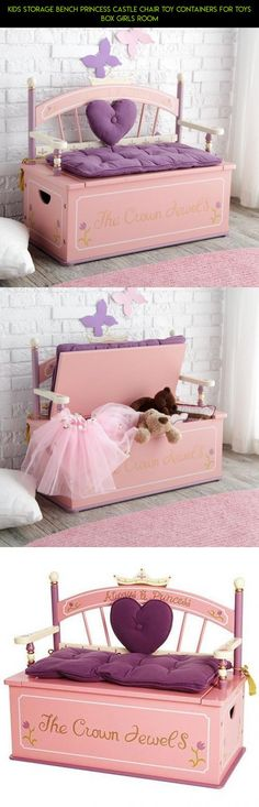 Kids Storage Bench Princess Castle Chair Toy Containers For Toys Box Girls Room #parts #toys #for #camera #shopping #products #kit #tech #racing #drone #plans #technology #storage #fpv #gadgets