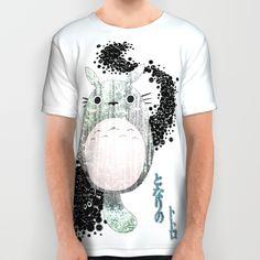 My neighbor & sootballs  All Over Print Shirt  https://society6.com/elyren