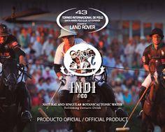 @indidrinks producto oficial del 43 Torneo Internacional Land Rover de Polo.