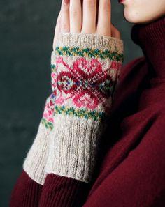 faire isle hand warmers