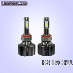 74.80$  Watch now - http://ai9mw.worlditems.win/all/product.php?id=32694898088 - Brand new led kits for H8 H9 H11 led headlight bulbs 50W high power LED 6000k White car headlights bulbs 10000LM fog headlamp