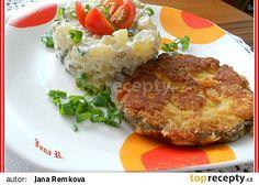 Císařské řízky recept (plátky uzeného,česnek,francouzská nebo kremžská hořčice do těstíčka)