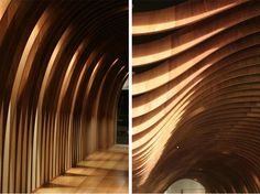 Wood Roof interior Design Cave Restaurant in Sydney by Koichi Takada Architects 02