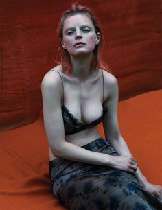 Guinevere Van Seenus   Come As You Are (W Magazine)