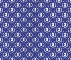 The #Gallifreyan #fabric collection by @implexity at @Spoonflower #DW #geek