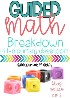 Guided Math Break Down  - Saddle up for Second Grade
