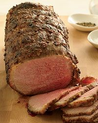 Coriander-Dusted Roast Beef (Printed)