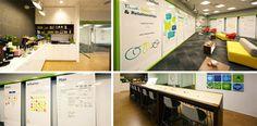 Designschmiede IDEO - whiteboards everywhere