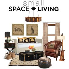 """""""Small Space Living"""" by angela-windsor on Polyvore"""
