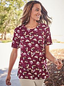 Floral Print Tunic from Blair