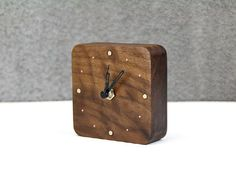 Desktop System Design Series--Solid Wood Clock #NewProject Finding something easy but special to fill in your life. More at http://www.buyerparty.com/project/desktop-system-design-series-solid-wood-clock