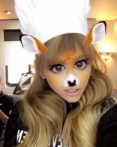 Ariana Grande Via Snapchat @Moonlightbae On September 2nd 2016