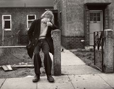 Chris Killip – Youth on Fence, Middlesbrough, Teeside, 1975
