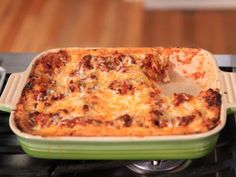 Beef and bechamel lasagna from food network s ten dollar dinners my