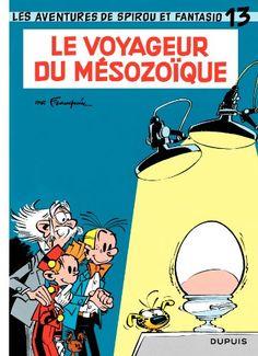 Spirou et Fantasio, tome 13 : Le voyageur du Mésozoïque de André Franquin http://www.amazon.fr/dp/280010015X/ref=cm_sw_r_pi_dp_ARDUvb0TM47MS