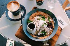 proteini cafe, paleo pancakes, @crrystalised