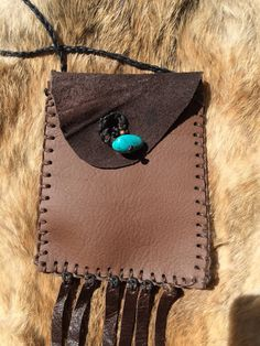 A personal favorite from my Etsy shop https://www.etsy.com/listing/248085255/natural-handmade-brown-leather-herb