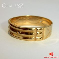 Fotos de anel atlante em ouro 18k - poder de cura - proteção - intuição -