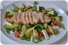 Kylling på salatseng (À la Karoline)