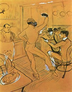 Page of Chocolat Dancing in the Irish American Bar by TOULOUSE-LAUTREC, Henri de in the Web Gallery of Art, a searchable image collection and database of European painting, sculpture and architecture Henri De Toulouse Lautrec, Art Nouveau, Maurice Utrillo, An American In Paris, Irish American, Painting Prints, Art Prints, Canvas Prints, Georges Seurat